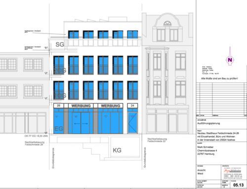 Neubau Stadthauses, Itzehoe